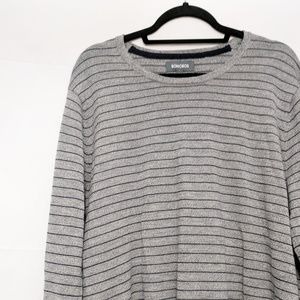 Bonobos Crewneck Merino Wool Striped Sweater